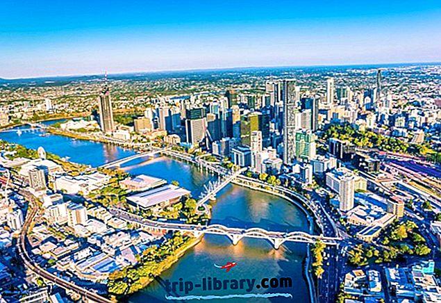 11 Najlepšie hodnotené turistické atrakcie v Brisbane