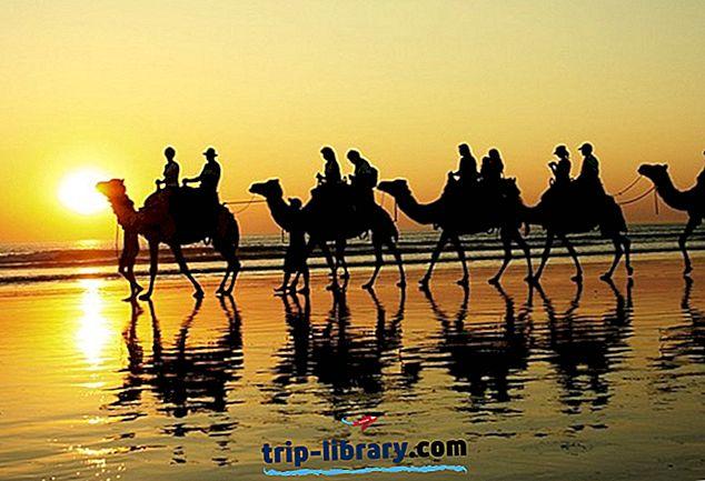 8 Najlepšie hodnotené turistické atrakcie v Broome