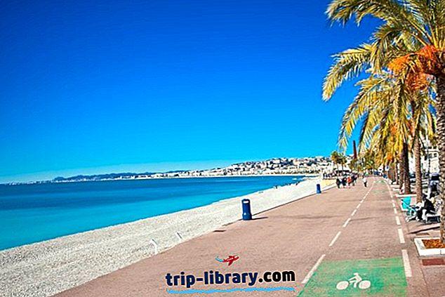 12 mest populære turistattraktioner på Côte d'Azur