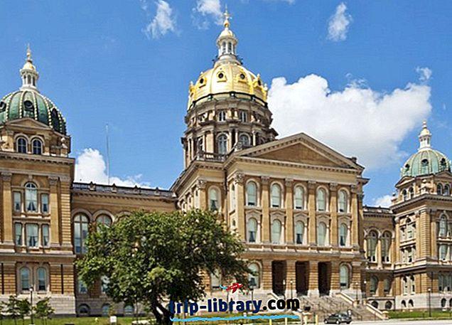 12 Najlepšie hodnotené turistické atrakcie v Des Moines