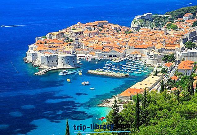 Topp 10 turistattraksjoner i Dubrovnik