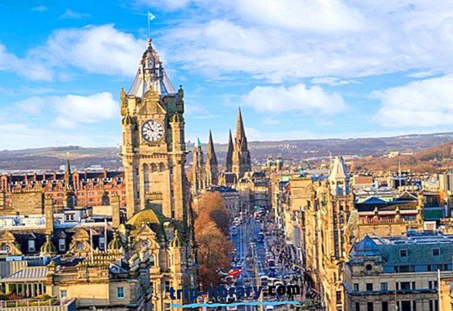 15 suosituinta matkailukohteita Edinburghissa