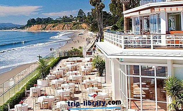 캘리포니아에서 가장 높은 등급의 해변 리조트 14 곳