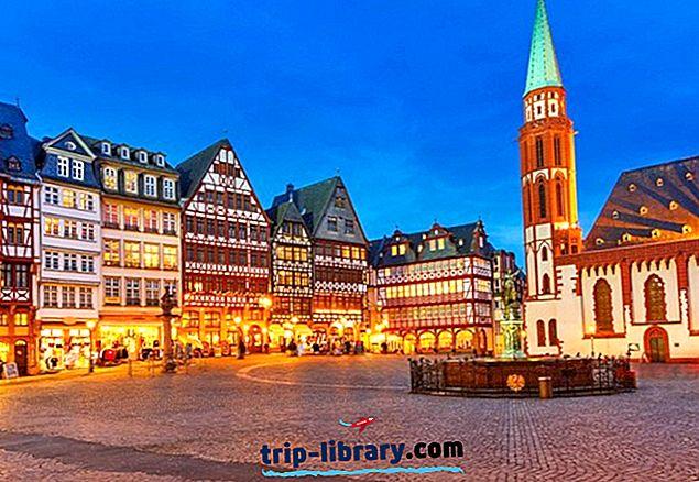 12 populaarseimat turismiobjektit Frankfurdis