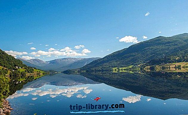 8 Nejlépe hodnocené turistické atrakce v Hardangerfjordu