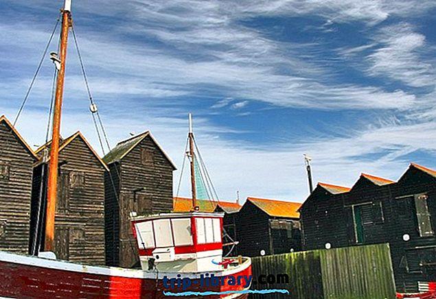 12 legnépszerűbb turisztikai látványosság Hastingsben