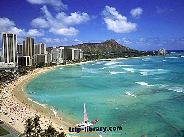 15 Nejlépe hodnocené turistické atrakce na Havaji