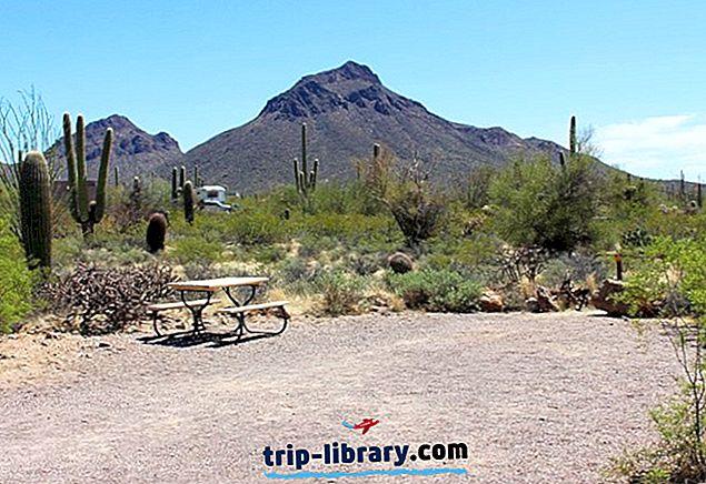 8 Bedst bedømte Campingpladser nær Tucson