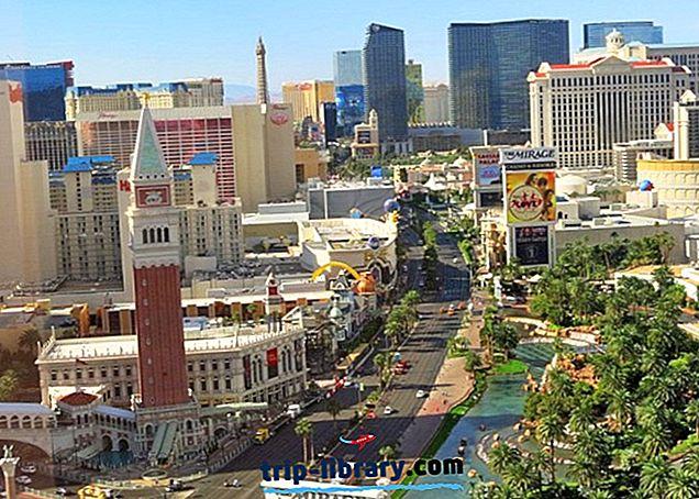 20 Topprankade turistattraktioner i Las Vegas