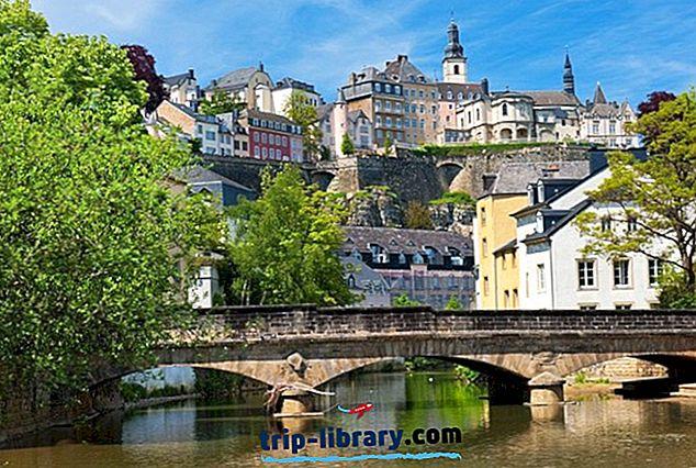 20 najbolj priljubljenih turističnih znamenitosti v Luksemburgu