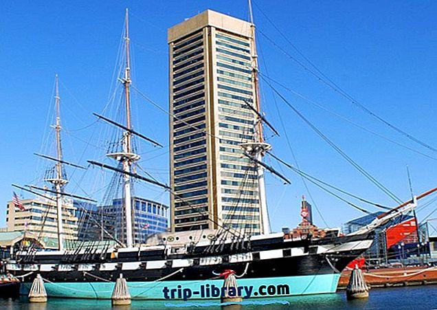 14 legnépszerűbb turisztikai látványosságok Marylandben