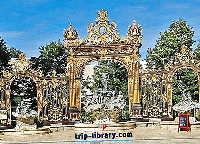 10 Nejoblíbenějších Turistické atrakce v Nancy