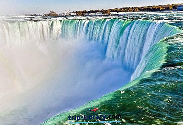 Nejlépe hodnocené turistické atrakce - Niagarské vodopády, Kanada