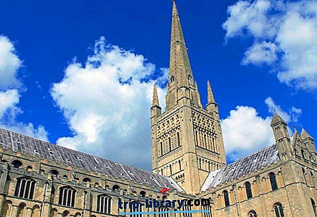 10 suosituinta matkailukohteita Norwichissä