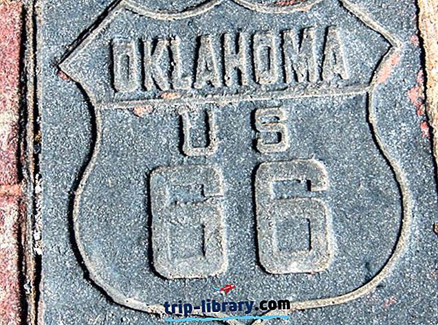 15 najbolj priljubljenih turističnih znamenitosti v državi Oklahoma