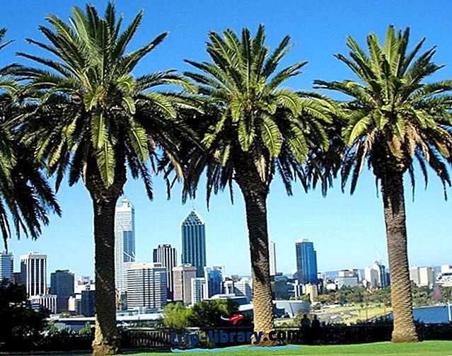 11 Nejlépe hodnocené turistické atrakce v Perthu