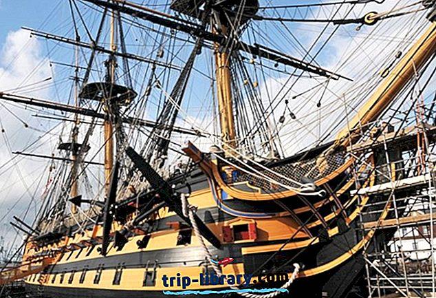12 Nejlépe hodnocené turistické atrakce v Portsmouth