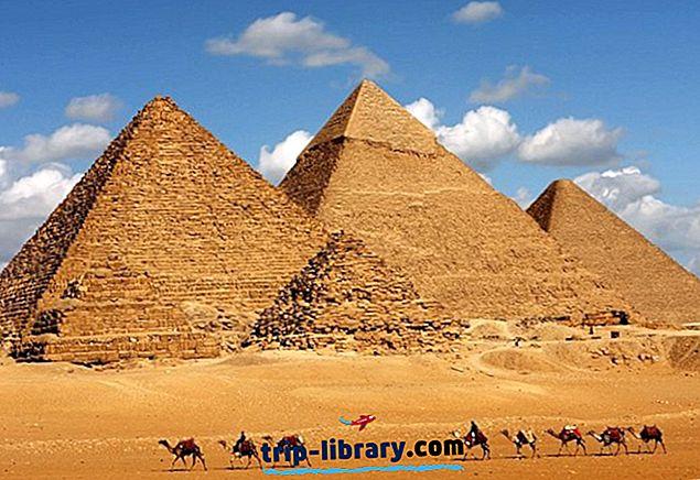 Piramide v Gizi: zanimivosti, nasveti in ture