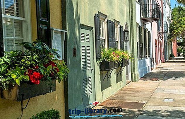 11 mest populære turistattraktioner i South Carolina
