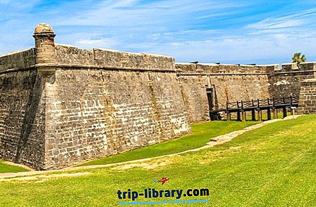 12 populaarseimat vaatamisväärsust St. Augustine'is, FL