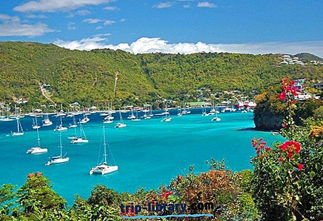 12 مناطق الجذب السياحي الأعلى تقييما في سانت فنسنت وجزر غرينادين