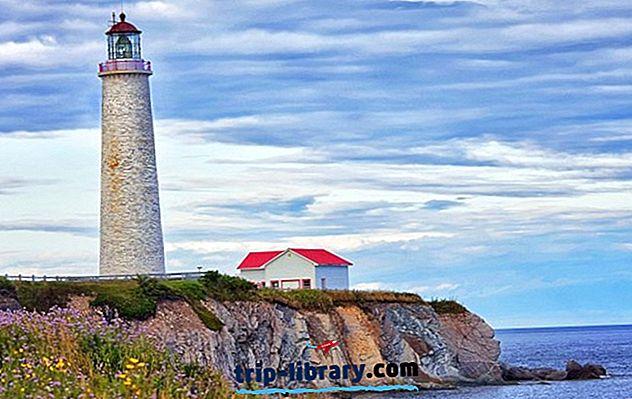 9 najbolj priljubljenih turističnih znamenitosti na polotoku Gaspé