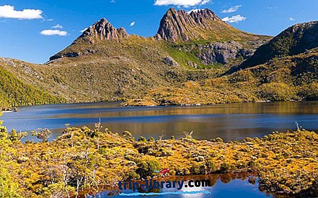 15 Nejlépe hodnocené turistické atrakce v Tasmánii