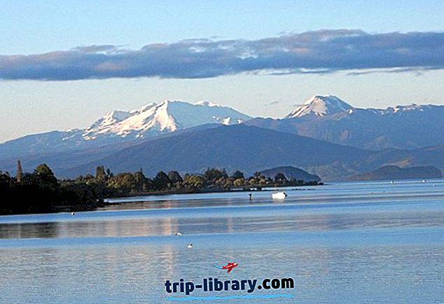 12 Nejlépe hodnocené turistické atrakce v Taupo