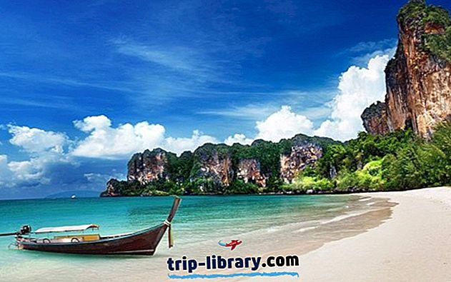 10 Najlepšie hodnotené turistické atrakcie v Thajsku