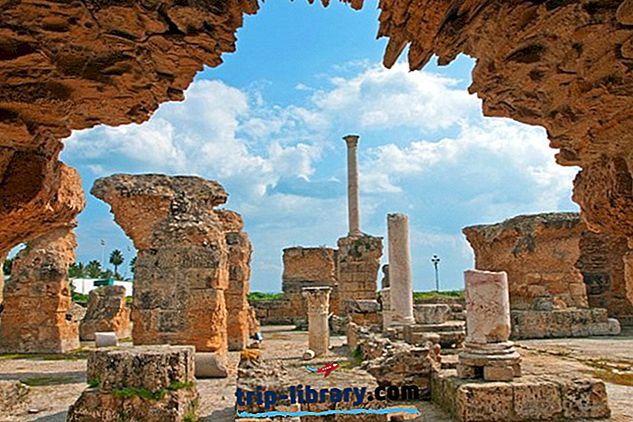 11 mest populære turistattraktioner i Tunis