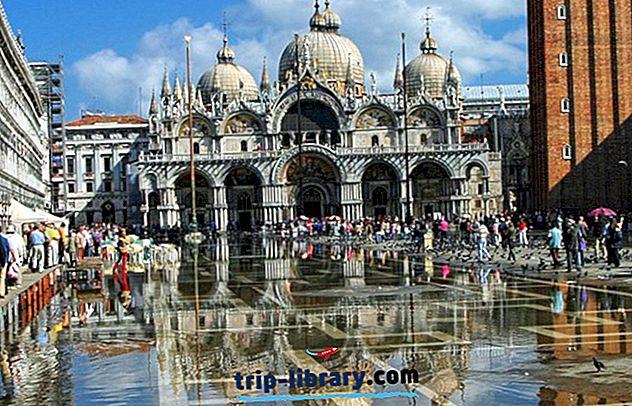 16 mest populære turistattraktioner i Venedig