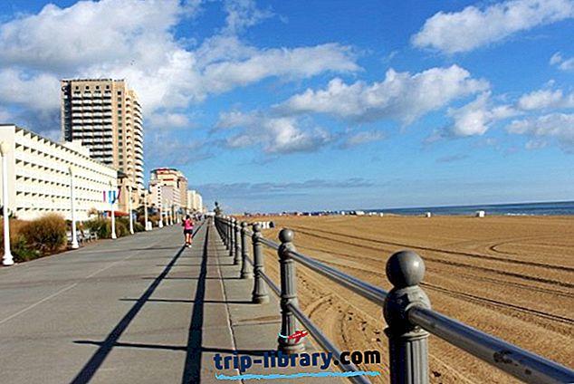 12 mest populære turistattraktioner i Virginia Beach
