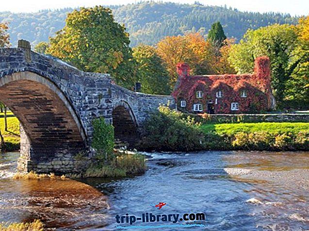 ノースウェールズのトップ14の観光名所