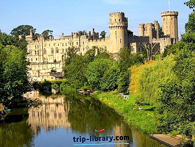 10 populārākie tūristu apskates objekti Warwick, England