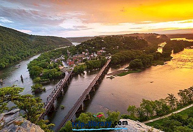 14 Najlepšie hodnotené turistické atrakcie v Západnej Virgínii