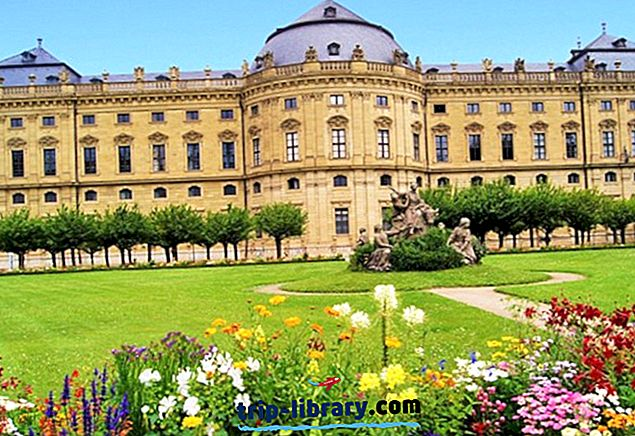 13 populiariausių lankytinų vietų ir dalykų Würzburg
