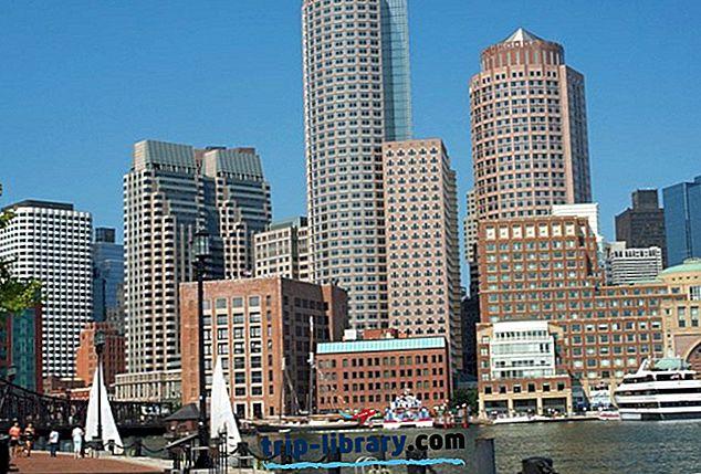 15 legjobb hely a Massachusetts-ban