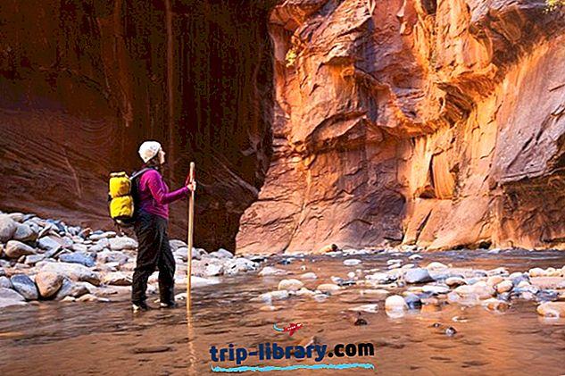 9 Nejlépe hodnocené turistické stezky v národním parku Zion