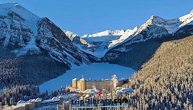 12 topprankede feriestedene i Alberta