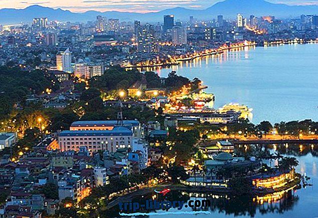 Kje ostati v Hanoju: najboljša območja in hoteli, 2018