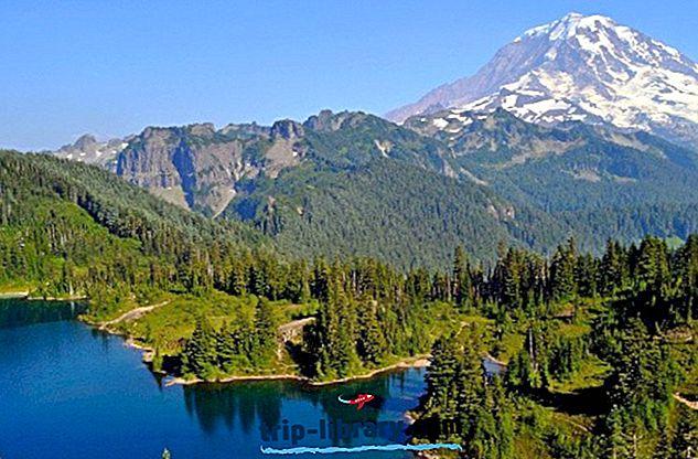 Najlepšie hodnotené kempingy v destinácii Mt.  Národný park Rainier