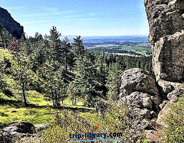 12 Laluan Mendaki Terunggul yang terletak berhampiran Spokane