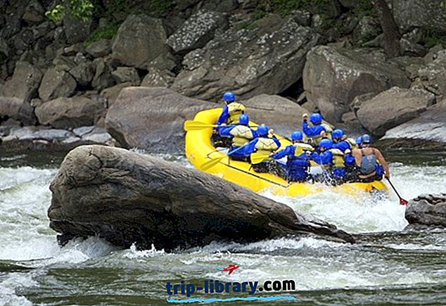 5 Bedste Whitewater Rafting Rivers i West Virginia