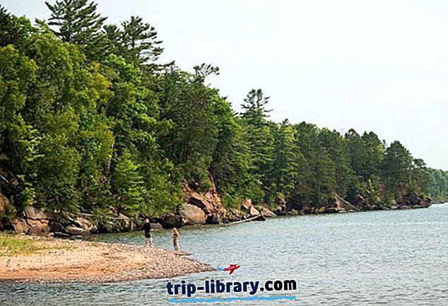 Wisconsin bölgesindeki en iyi 11 Plajlar