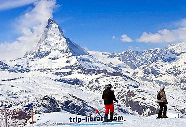12 højest rangerede skisportssteder i Schweiz, 2019
