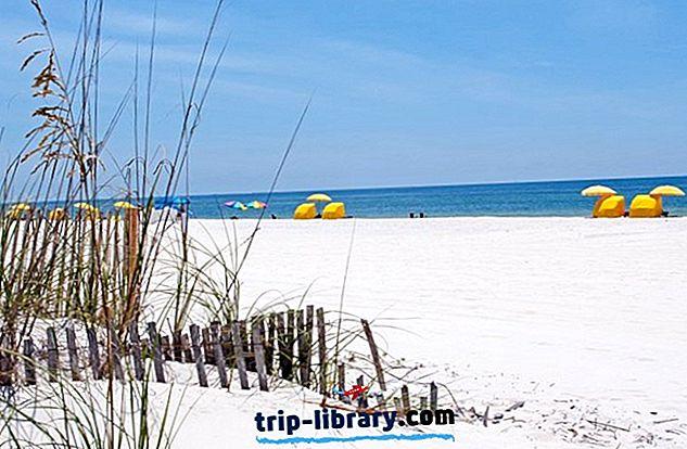 12 Nejlépe hodnocené turistické atrakce v zálivu Shores, Alabama