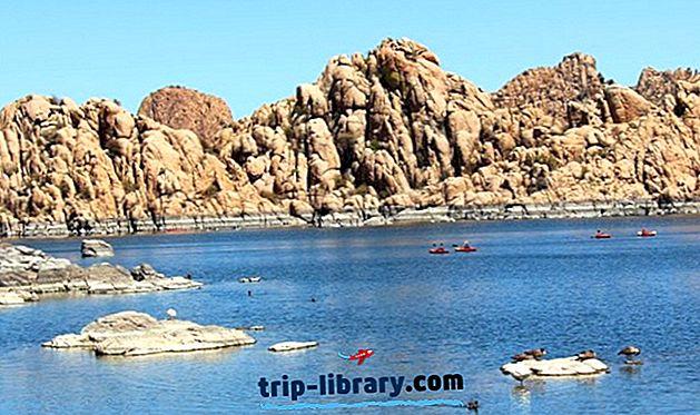 7 populiariausios stovyklavietės netoli Prescott, Arizona