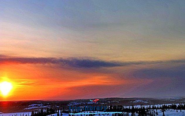 Bedste turistattraktioner i Yellowknife