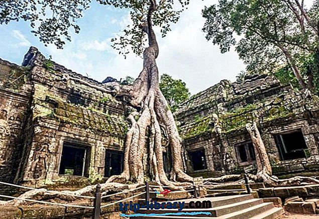 7 Topprangerte turistattraksjoner i Siem Reap
