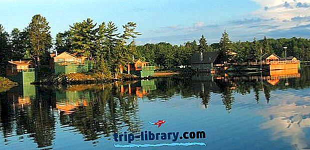 オンタリオ州のトップ8評価付きフィッシングロッジ